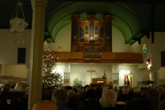 Kerstconcert Vennekerk Winschoten 12-12-2009